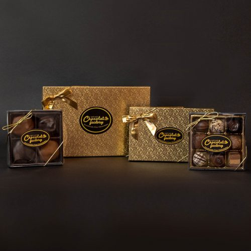Modern Chocolate Gift Box