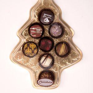 Christmas Tree Assorted Truffle Box