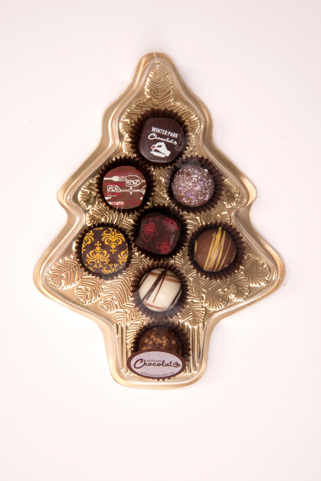 Christmas Tree Assorted Truffle Box