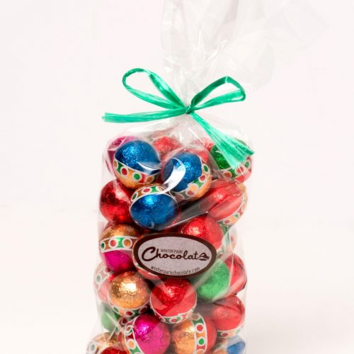 Foiled Wrapped Chocolate Ornaments