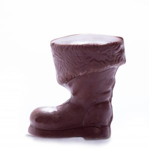 Solid Chocolate Santa Boot
