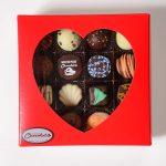 Valentine Red Truffle Box