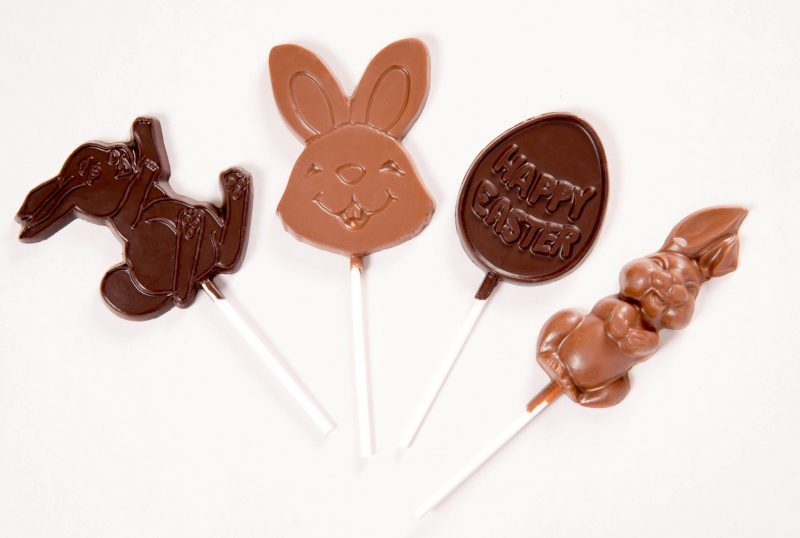 Chocolate Easter Lollies