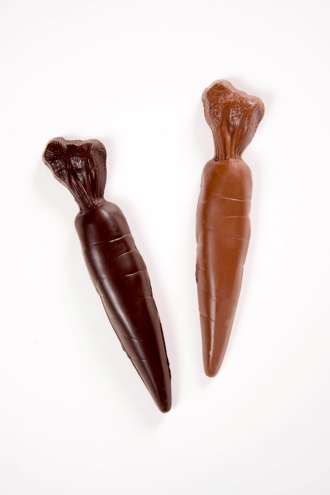 Large Chocolate Carrots