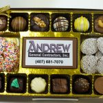 Chocolate Corporate Logo Boxes