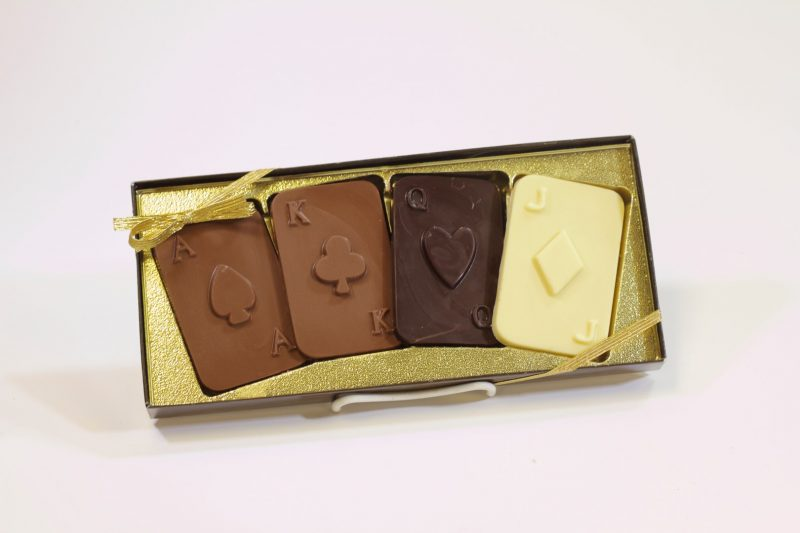 Chocolate Playing Cards Gift
