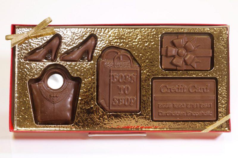 Chocolate Born to Shop Kit