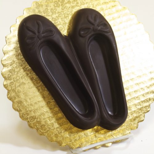 Chocolate Ballet Slippers