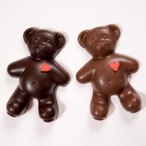 Solid Chocolate Teddy Bear