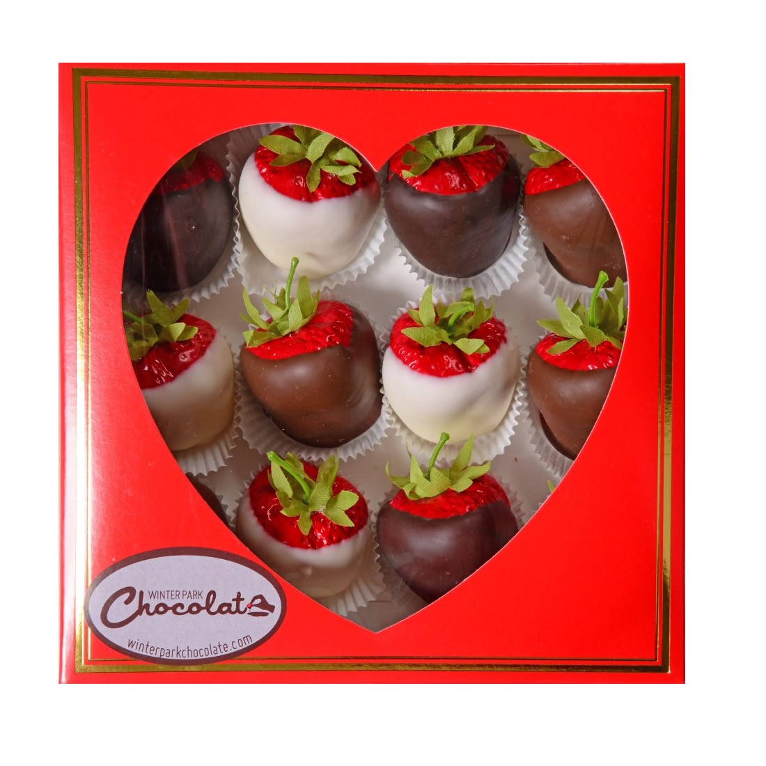 Valentine Box Of Chocolate Covered Strawberries Maitland Chocolate Factory