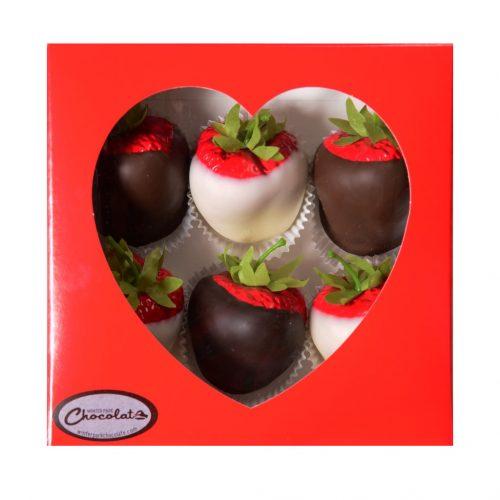 Chocolate Covered Strawberries Box Small
