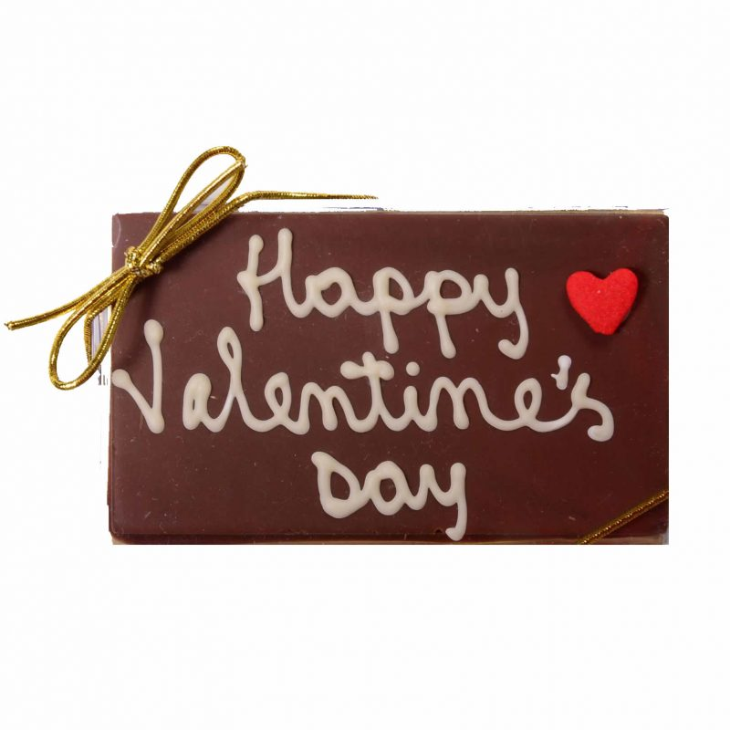 Valentine Personalized Chocolate Bar