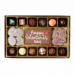 Valentine's Day Chocolate Message Gift Box Large