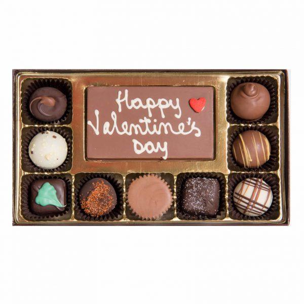 Valentine's Day Chocolate Message Gift Box Medium