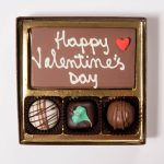 Valentine's Day Chocolate Message Gift Box Small