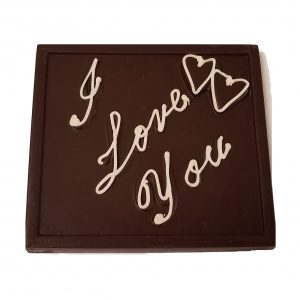Valentine I Love You Chocolate Gift Bar