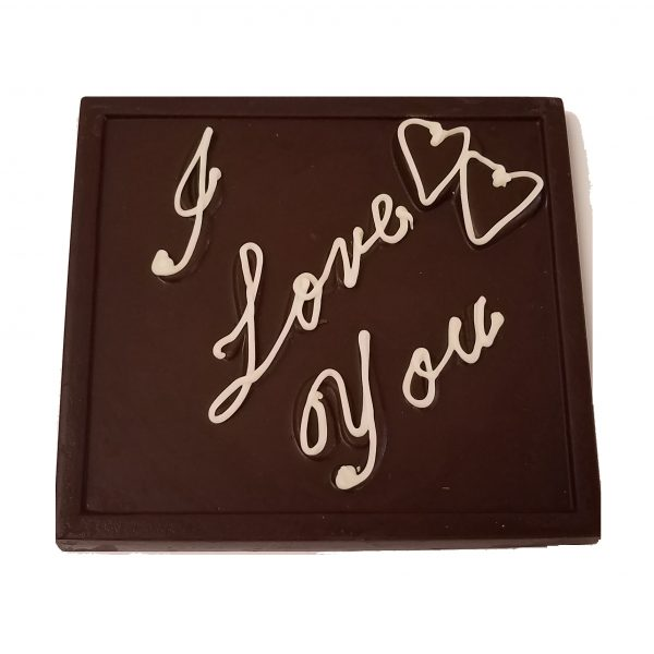 Valentine I Love You Chocolate Gift Bar