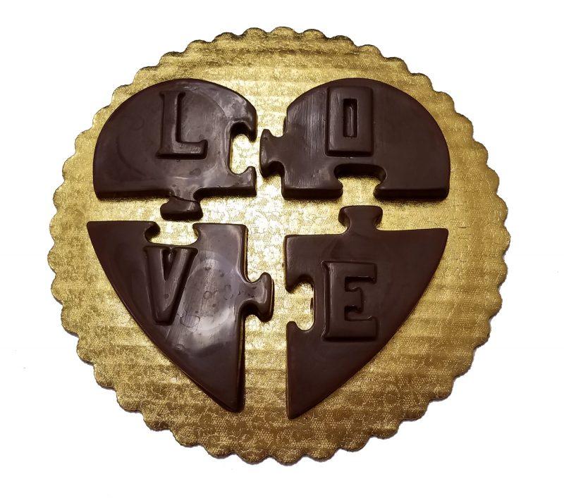 Valentine Puzzle Chocolate Gift Bar