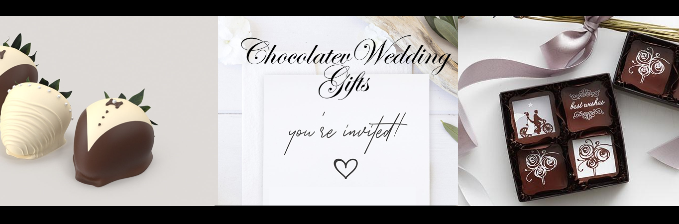 Wedding Day Chocolate Gifts