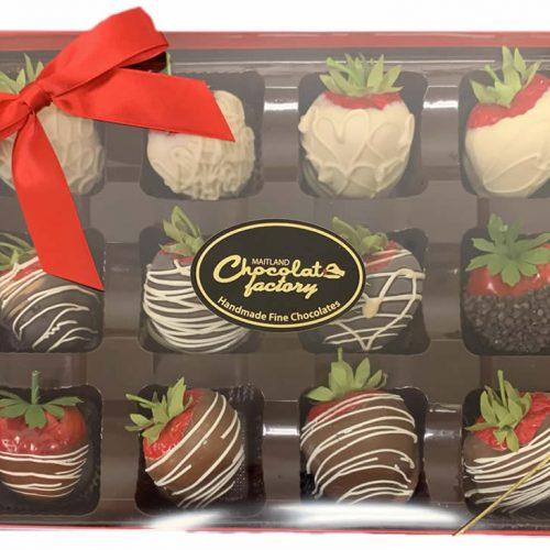 Chocolate Covered Strawberry Box