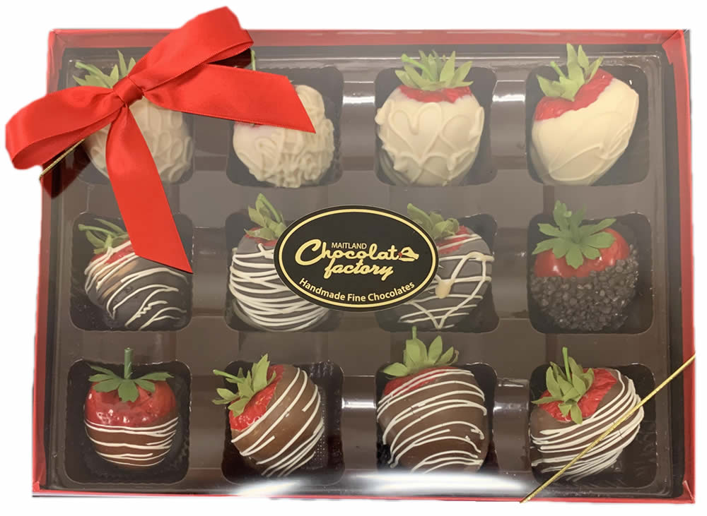 Chocolate Covered Strawberry Box